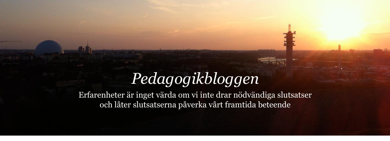 Pedagogikbloggen